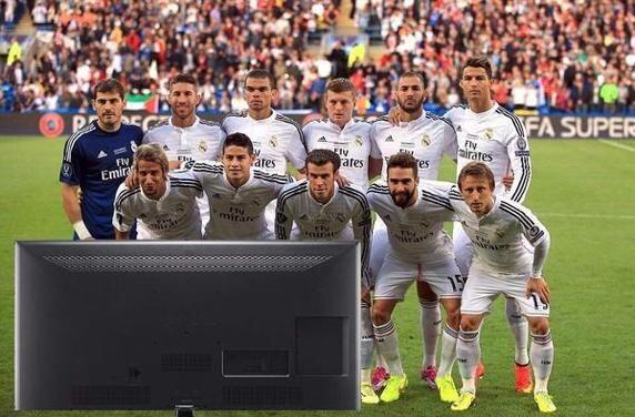 Las bromas no se hicieron esperar tras el título que obtuvo el Barcelona...