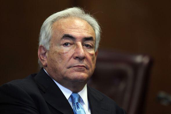 La semana pasada, Strauss-Kahn fue puesto en libertad bajo palabra, lueg...