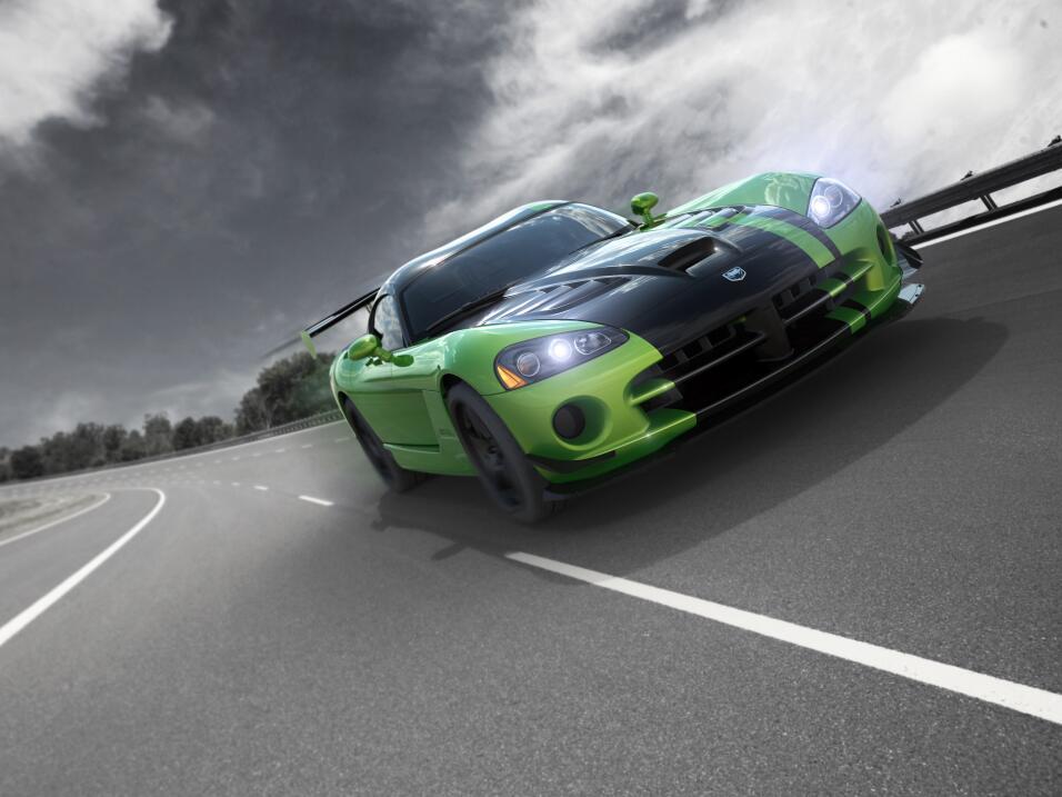 Fin de una era: Dodge construyó el último Viper 2010_Snakeskin_Viper_ACR...