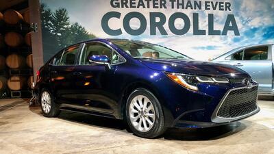 Este es el Toyota Corolla 2020