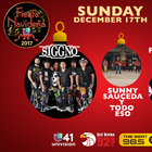 Fiesta Navideña has been moved to Sunday 12/17