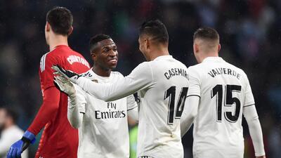 En fotos: con goles de Casemiro y Modric, el Real Madrid venció al Sevilla en el Bernabéu