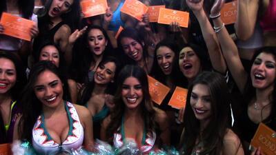 Los Miami Dolphins buscan porristas latinas en México