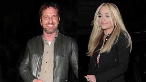 Gerard Butler y Rita Ora quizás estén saliendo juntos