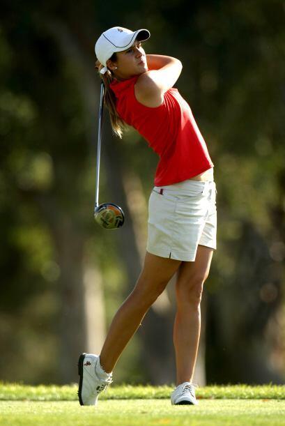 La española Azahara Muñoz de 22 años de edad es una de las mejores golfi...