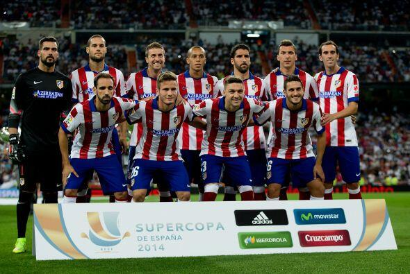 Comenzamos con el GRUPO A donde el Atlético de Madrid (España) parte com...