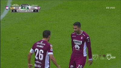 Zapatazo de Mariano Torres que puso el 1-1