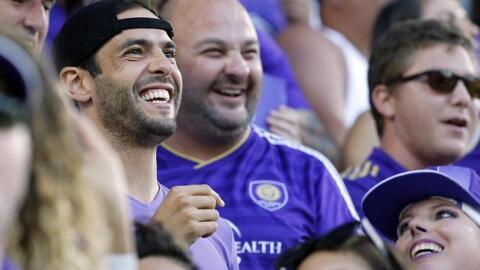 Kaká fue un fanático más en partido de Orlando City