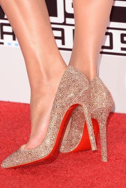 Y para que vean que tiene un excelente gusto, las zapatillas fueron de C...