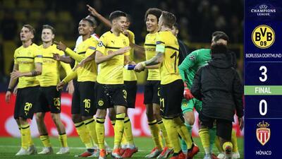 Borussia Dortmund 3-0 AS Monaco – GOLES Y RESUMEN - Grupo A UEFA Champions League