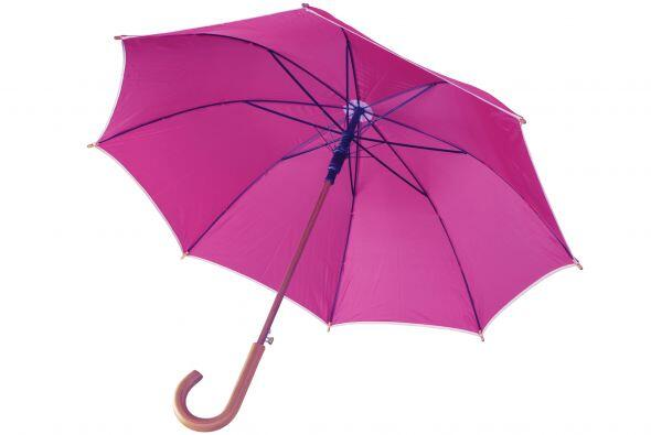 Paraguas. Por más de que el coche te proteja, en algún mom...
