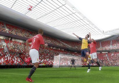 Las tribunas en los estadios parecen bastante reales, al igual que las j...