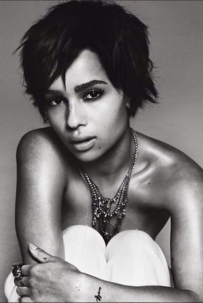 Es cantante, actriz y modelo, qué más se puede pedir. La chica Kravitz t...