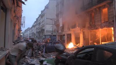 Al menos 3 muertos y 47 heridos en una explosión de gas en una panadería de París