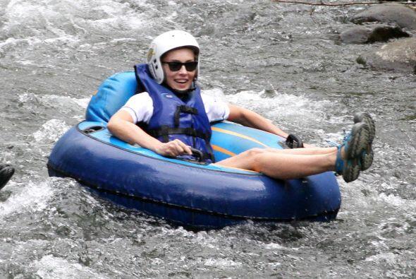 ¡A seguir disfrutando del río!