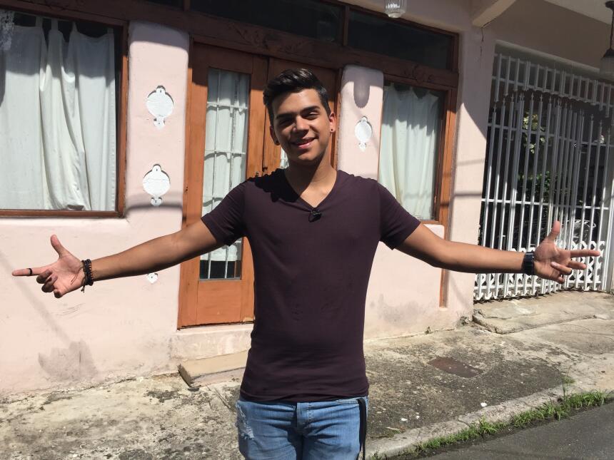 Fabyán nos dio un tour por su casa