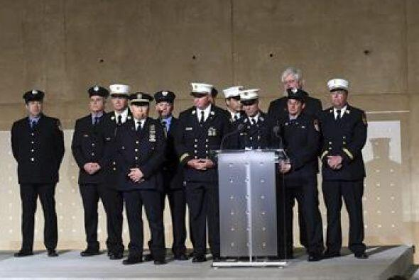 Los bomberos de Nueva   York   que quedaron atrapados   durante los ataq...