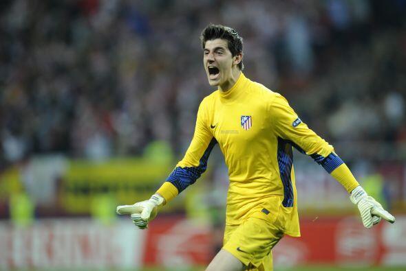 Thibaut Courtois del Atlético de Madrid. En realidad, este portero belga...