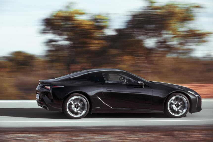 Aquí está el nuevo Lexus LC500h