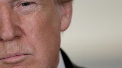En las tres ocasiones que el presidente Trump ha reaccionado a tiroteos...