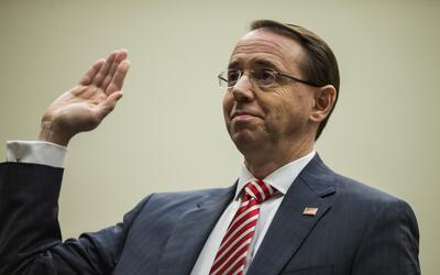 El vice fiscal general Rod Rosestein testificó el miércole...