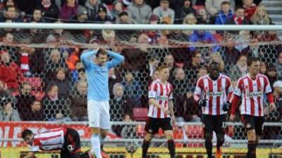 Un solo gol marcó la diferencia para la derrota de los 'Citizens'. Ni Dz...