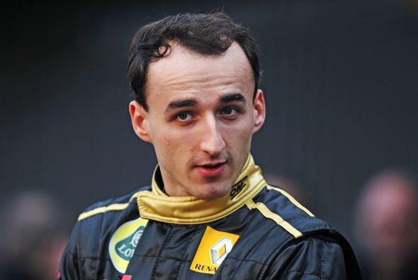 Kubica disputó su primera carrera profesional en Hungría en 2006 y tuvo...