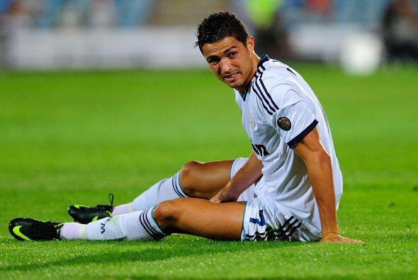 El astro portugués se fue sin gol alguno en su cuenta personal.