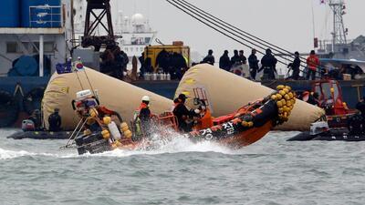 Rescate submarino en Corea del Sur desde la perspectiva del buzo