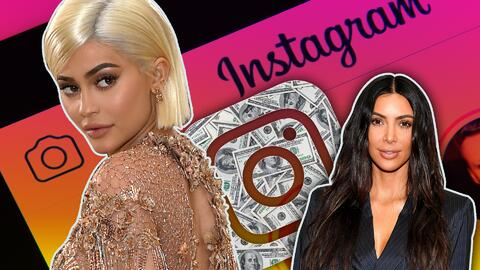 Kylie y Kim Kardashian