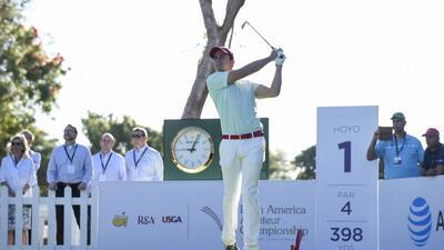 Mexicano Álvaro Ortíz ganó el Amateur Latinoamericano y va al Masters de Augusta