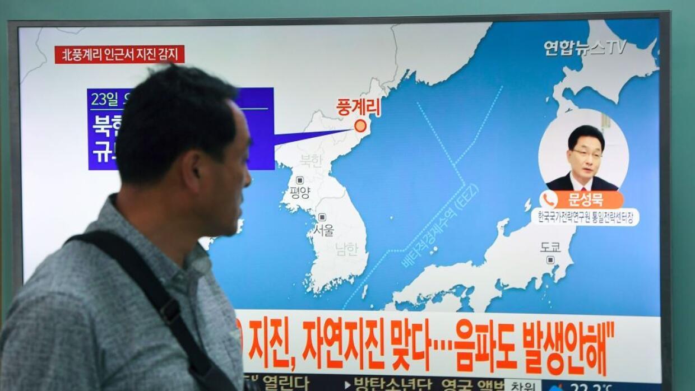 Varios sismos registrados en Corea del Norte han sido ligados a la prueb...