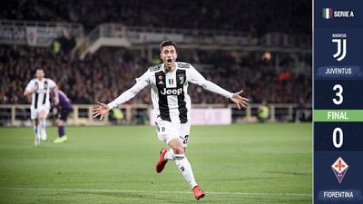 Goleó, pero dejó dudas atrás, así fue la victoria de la Juventus