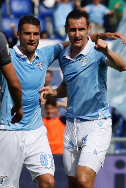 El delantero de la Lazio no marcó ni uno, no dos, ni tres, ni cuatro......