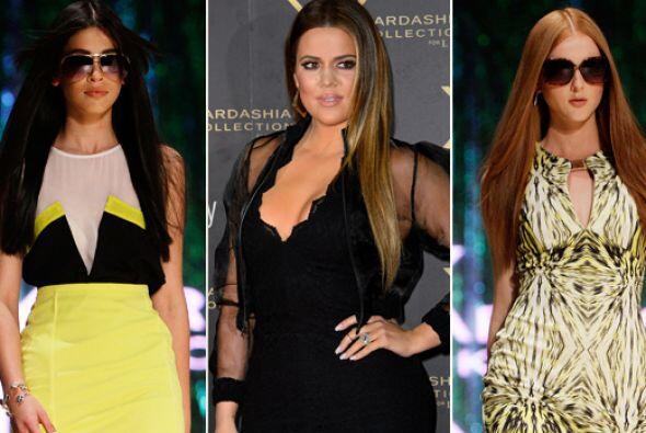 La menor de las hermanas Kardashian, Khloe desfiló impecable por la alfo...
