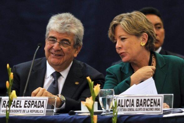 Por su parte, la secretaria ejecutiva de la Comisión Económica para Amér...