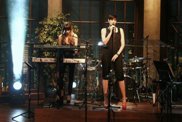 Las hermanas demostraron su talento en el show.