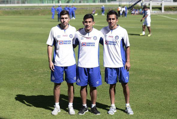 CRUZ AZUL  Luis Amaranto Perea, Joao Rojas, Mariano Pavone, Achille Eman...