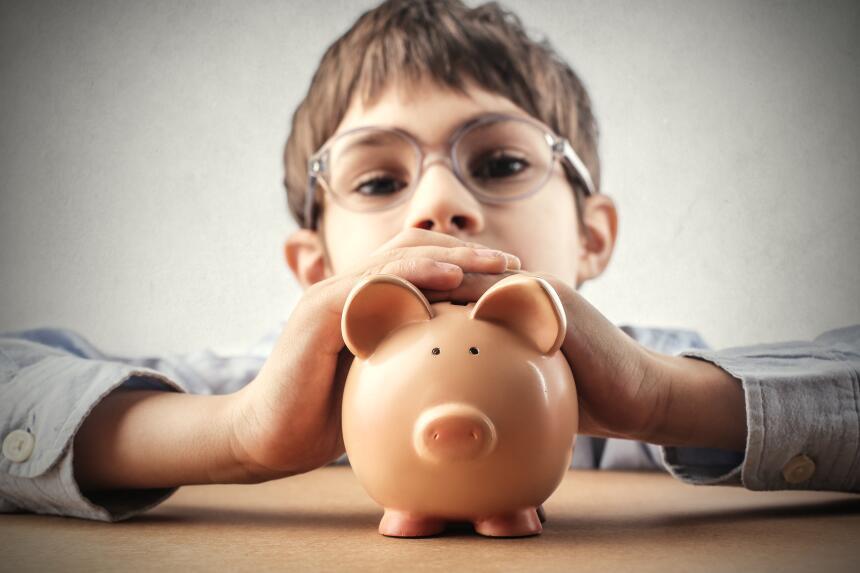 lecciones dinero niños
