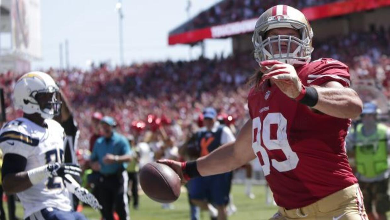 Los 49ers por fin pudieron anotar su primer touchdown de la pretemporada...