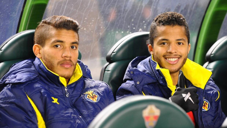 Jonathan y Gio dos Santos