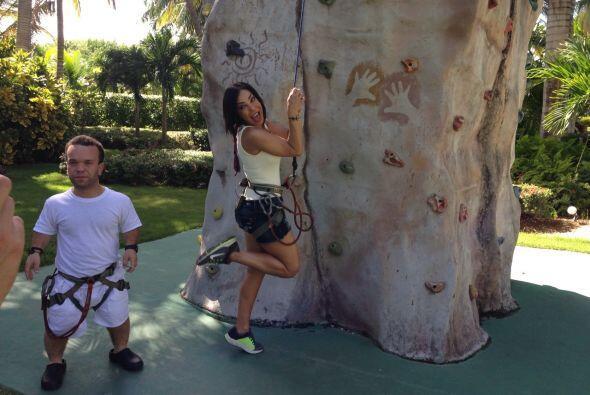Se la han pasado muy divertidos en República Dominicana.