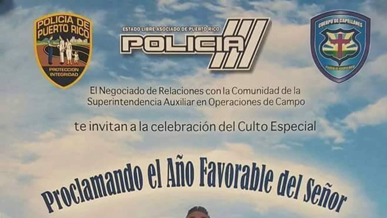 Polémica activida de la Policía de Puerto Rico