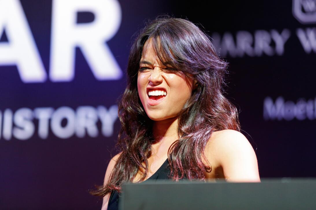 Michelle Rodríguez, la sensual 'boxeadora' de Hollywood GettyImages-4901...