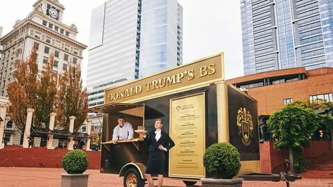 Food Truck Donald Trump