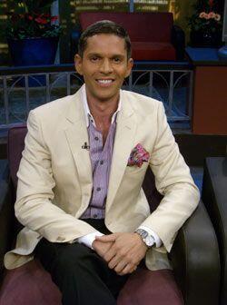 Para el fashionista de Univision, esta es su primera visita al programa.