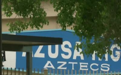 'Los Ángeles en un Minuto': estudiantes de la Preparatoria Azusa sufren...