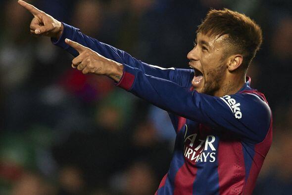 Semana del 19 - 26 de Enero 2015 - Elche, España - 24 de enero: Neymar J...