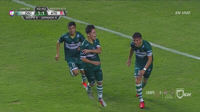 Con un BOMBAZO de Macías, Zacatepec empata 1-1- con Atlas