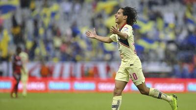 """Diego Lainez: """"Fue muy bonito hacer mi primer gol en el Azteca"""""""